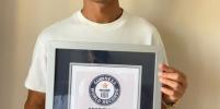 Криштиану Роналду попал в книгу рекордов Гиннесса
