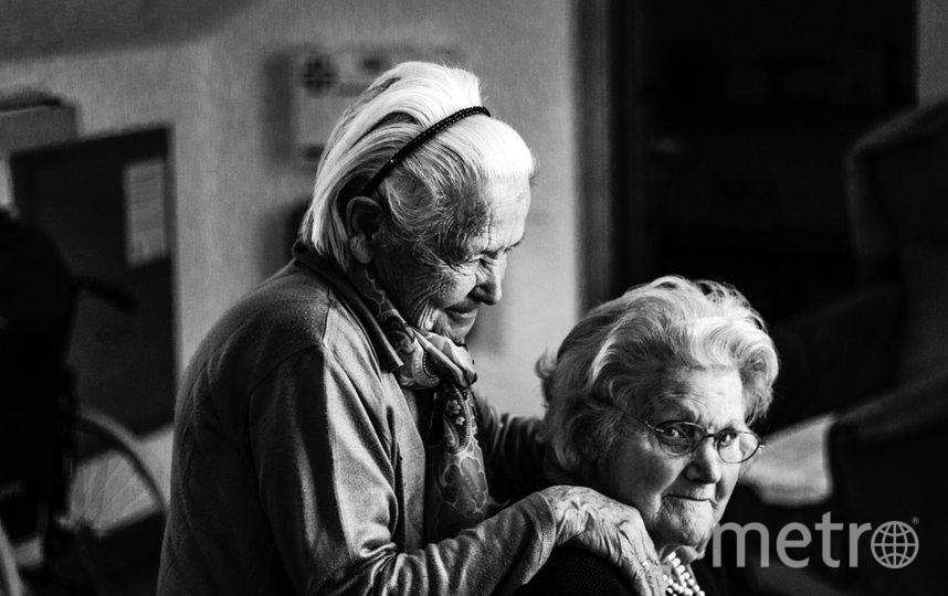 В основном деменцией страдают пожилые люди. Фото Pixabay