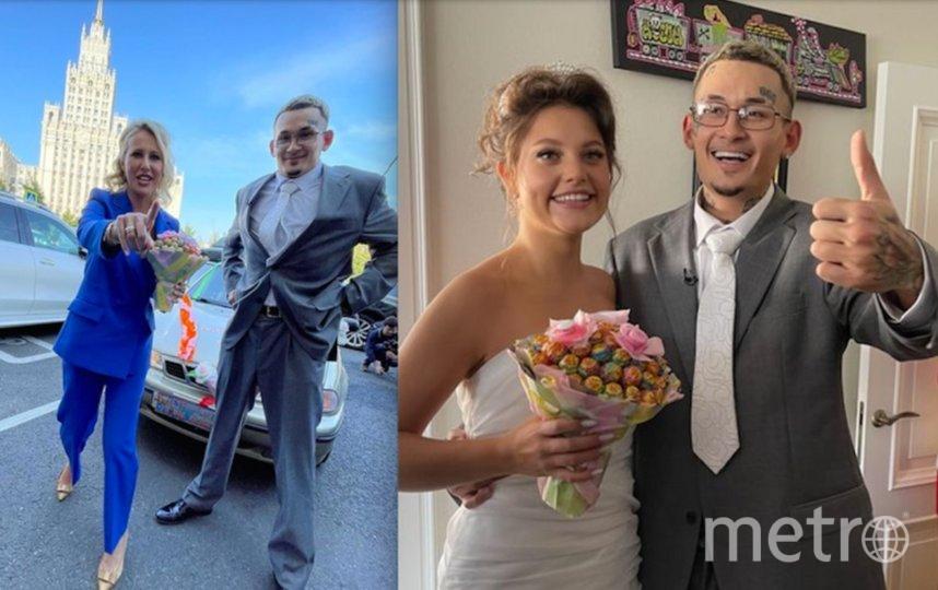 Моргенштерн 31 августа женился на Диларе Зинатуллиной. Фото Скриншот Instagram @xenia_sobchak.