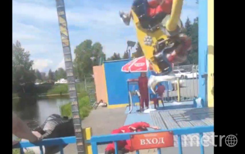 Инцидент произошел в июле. Фото  https://vk.com/spb_today.