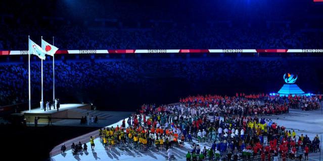 Церемония закрытия Паралимпийских игр в Токио.
