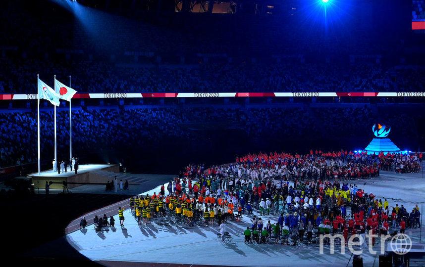 Церемония закрытия Паралимпийских игр в Токио. Фото Getty