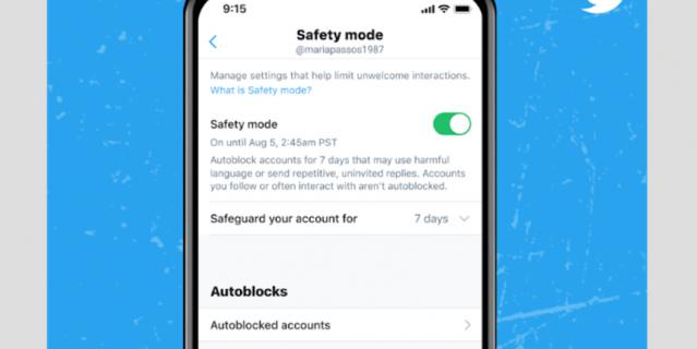 Для подключения нажмите на Settings, далее – на Privacy and Safety, а потом – на Safety Mode.