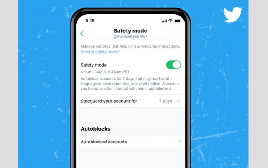 Для подключения нажмите на Settings, далее – на Privacy and Safety, а потом – на Safety Mode. Фото BLOG.TWITTER.COM