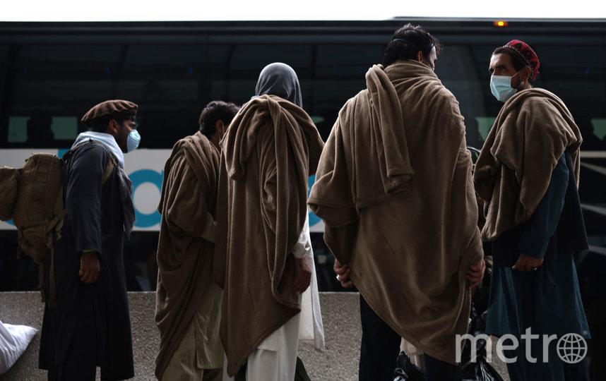 В августе жители Афганистана пытались спешно покинуть страну. Фото Getty