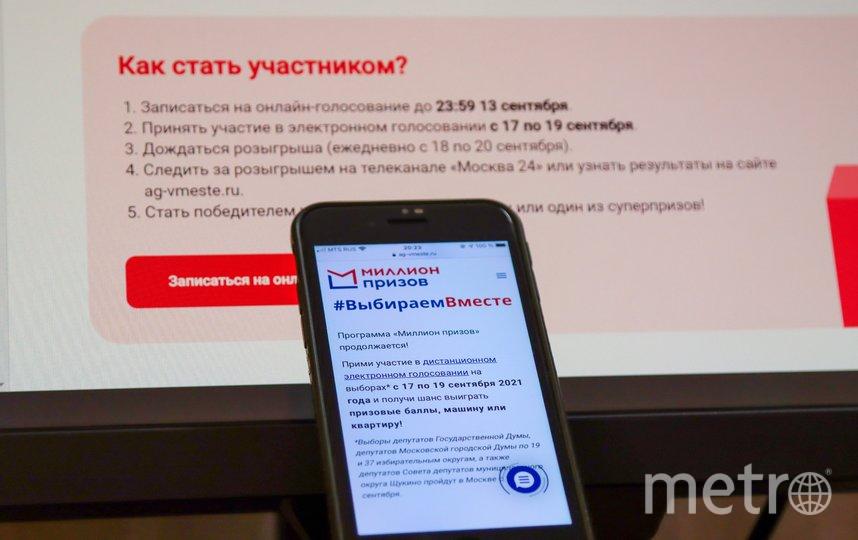 Онлайн-голосование пройдет с 17 по 19 сентября. Фото Агентство «Москва»