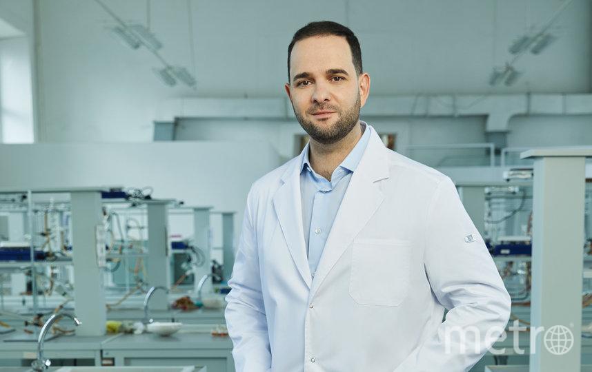 Профессор РАН, доктор химических наук Александр Мажуга. Фото Данил Головкин
