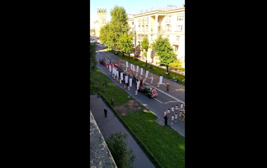 Кадры со съёмок на улице Маринеско. Фото @id159180913