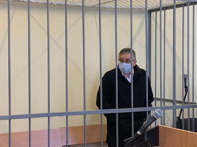 Александр Земченков в суде. Фото Объединенная пресс-служба судов Санкт-Петербурга