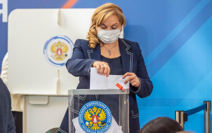 Элла Памфилова. Фото ЦИК России