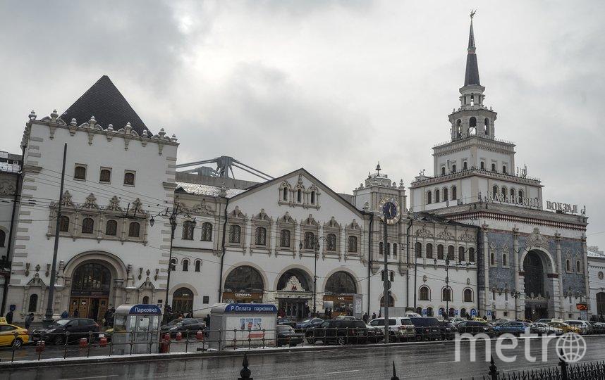 """Территория возле Казанского вокзала. Фото АГН """"Москва""""/Андрей Любимов"""