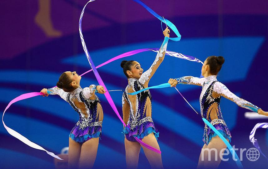 Сборная Израиля по художественной гимнастике. Фото Getty