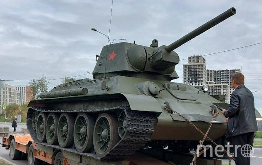 Поиск и реставрация танка заняли почти пять месяцев. Фото Полина Федосейкина