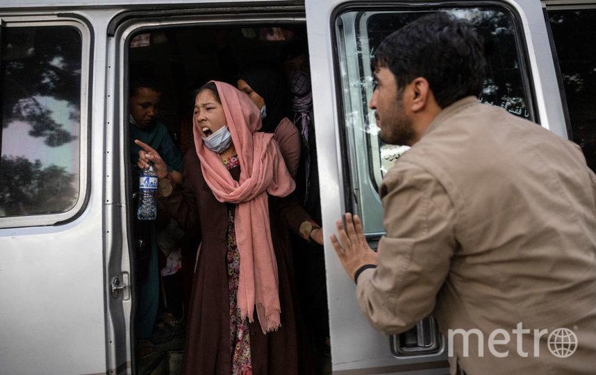 Афганские женщины выходят протестовать на улицу, осознавая все риски. Фото Getty