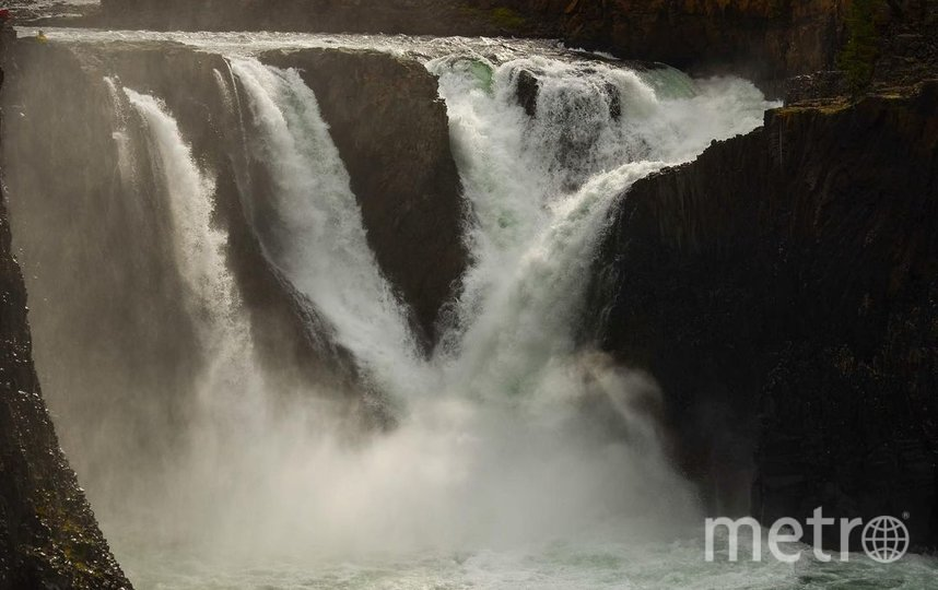 Иркиндинский водопад. Фото Instagram: @volk_mishka