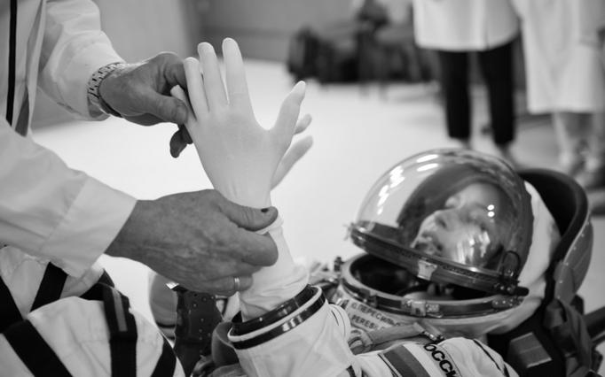 """Так проходила подготока к съемкам фильма """"Вызов"""". Фото Саша Гусов, фото предоставлены пресс-службой """"Первого канала"""""""