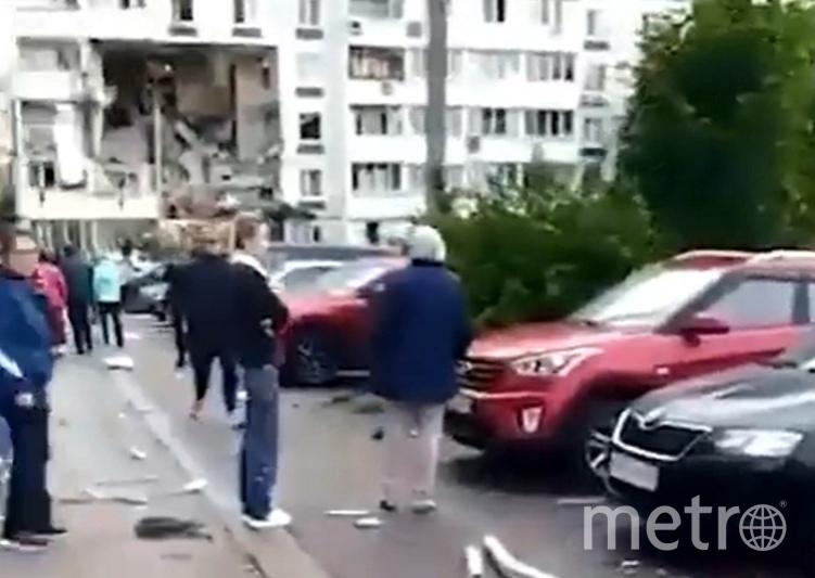 Взрыв прогремел в среду утром в девятиэтажном жилом доме. Фото  vk.com/typical_noginsk.