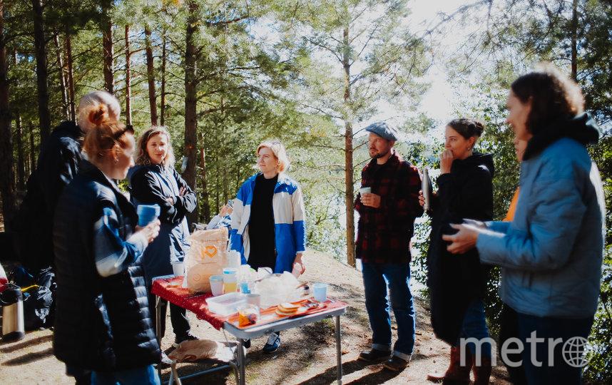 Участники тура во время пикника. Фото Предоставлено организаторами