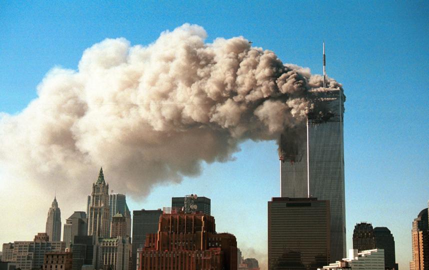 Атака на Всемирный торговый центр стала первым терактом в прямом эфире. Фото Getty