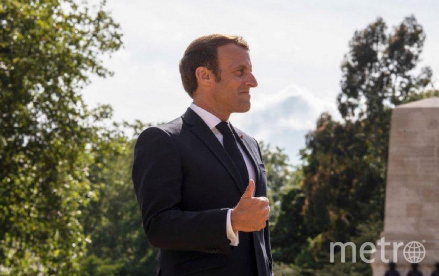 Президент Франции Эммануэль Макрон. Фото Getty.