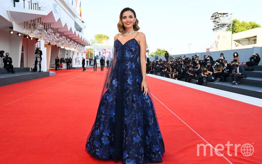Серена Росси на церемонии закрытия Венецианского кинофестиваля. Фото Getty