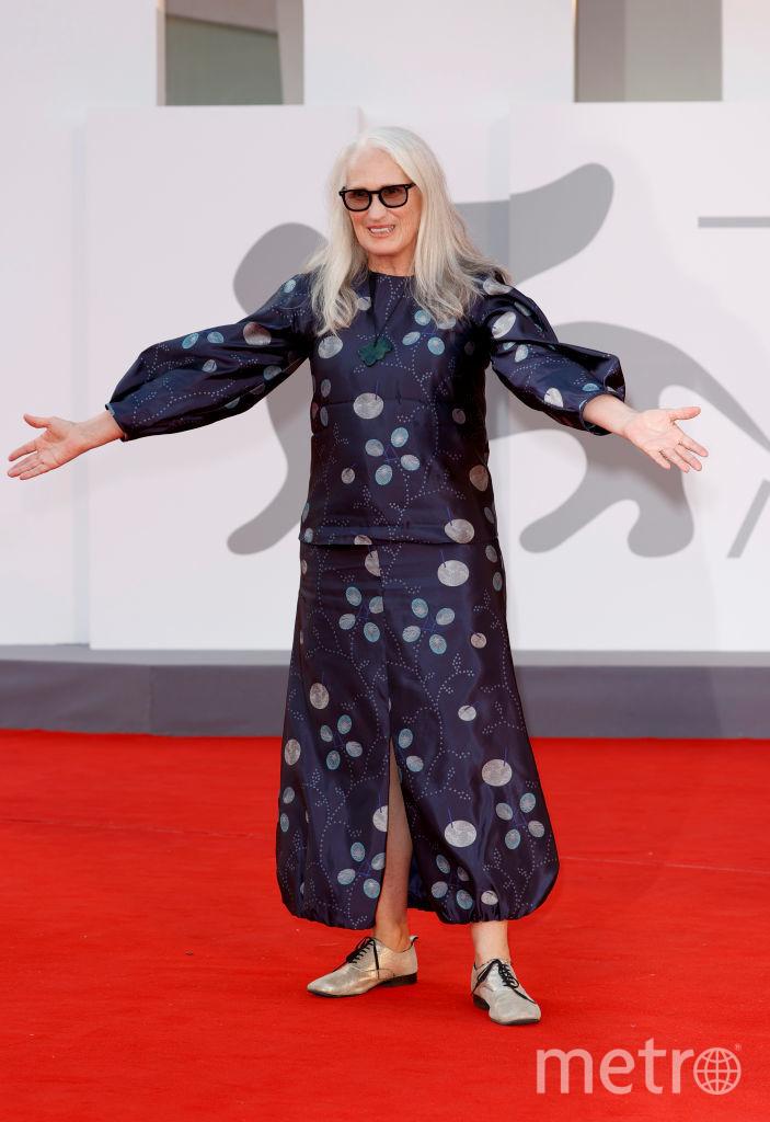 Режиссер Джейн Кэмпион на красной ковровой дорожке церемонии закрытия 78-го Венецианского международного кинофестиваля. Фото Getty