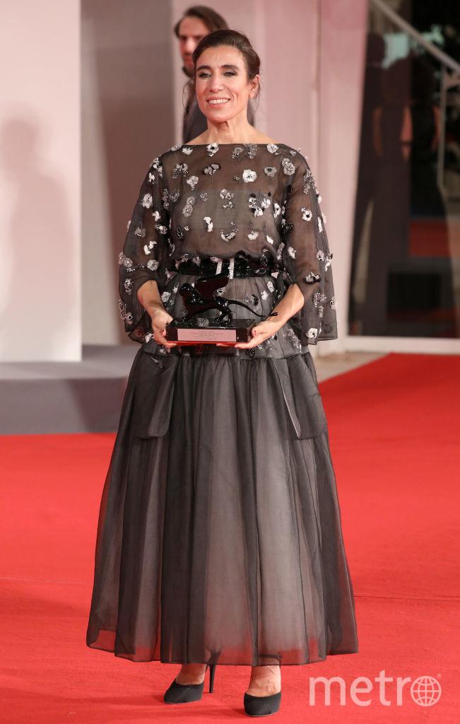 Бланка Ли на церемонии закрытия Венецианского кинофестиваля. Фото Getty