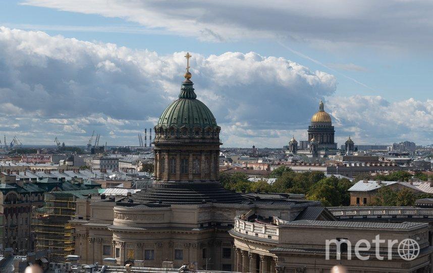 """Вот такой вид открывается со смотровой площадки Думской башни. Фото Святослав Акимов, """"Metro"""""""