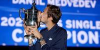 Победитель US Open: Даниил Медведев рассказал о праздновании победы