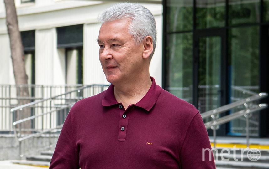 Сергей Собянин. Фото Максим Мишин, пресс-служба мэра и правительства столицы