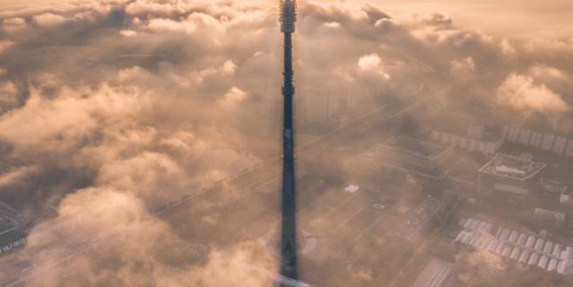 Останкинская башня.
