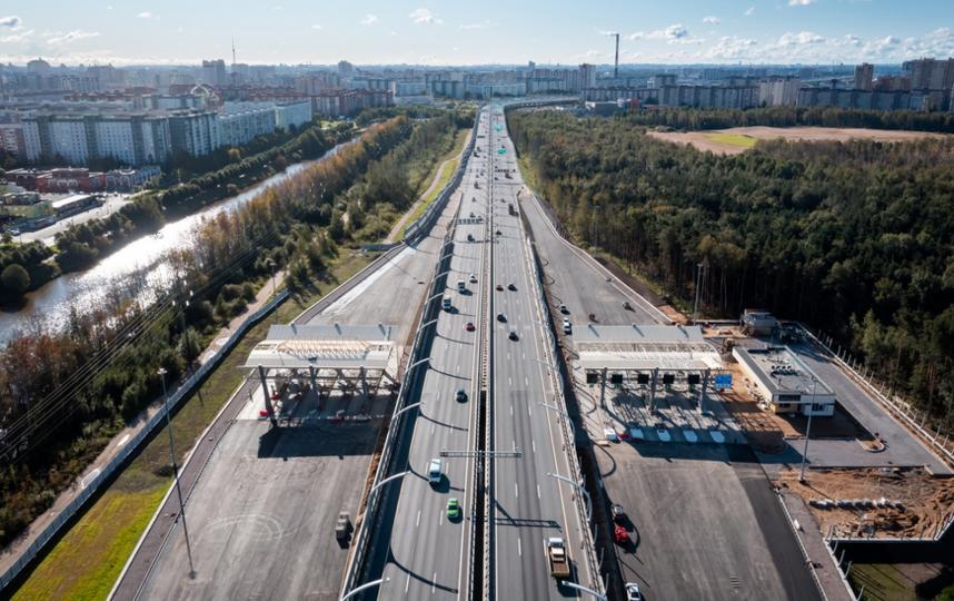 С 14 сентября открыто рабочее движение по новой развязке. Фото https://www.gov.spb.ru/
