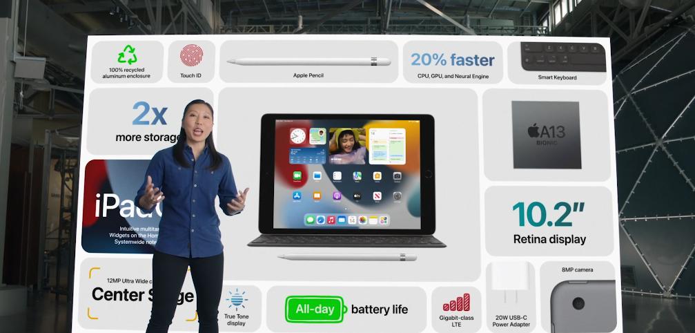 iPad. Фото Скриншот презентации.