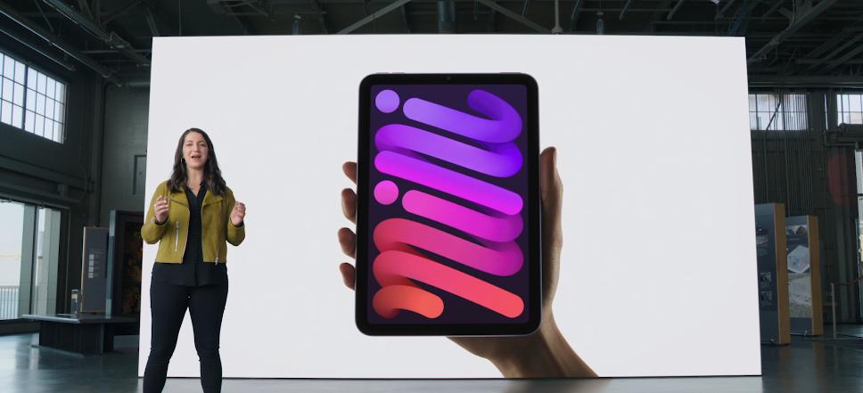 iPad mini. Фото Скриншот презентации.