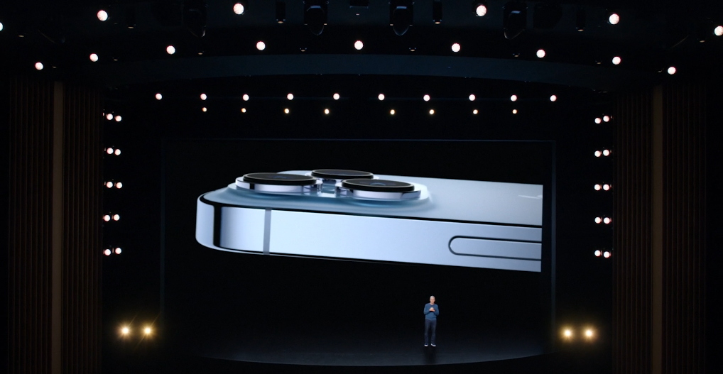 iPhone 13 Pro. Фото Скриншот презентации.