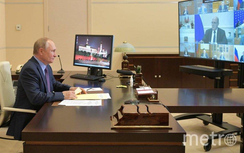 Владимир Путин. Фото ЦИК Единая Россия