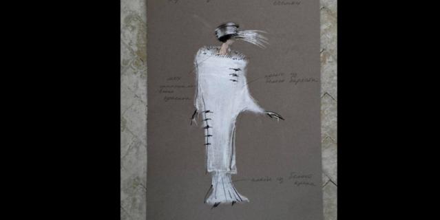 """""""Кокон"""" для Паулины Андреевой, чтобы превратить её в Веру Холодную."""