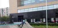 В Невском районе открыли новую спортплощадку со скейт-парком