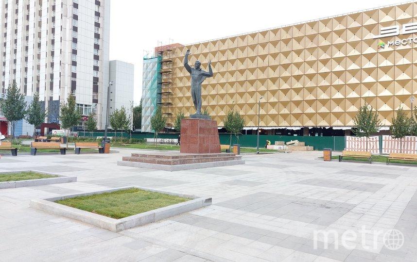 """Более 5 тыс. дворов, парков и других городских объектов было благоустроено в Москве в 2021 году. Фото АГН """"Москва"""""""