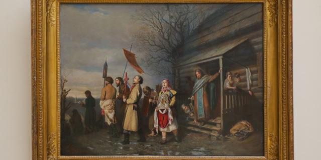 """""""Сельский крестный ход на Пасхе""""."""