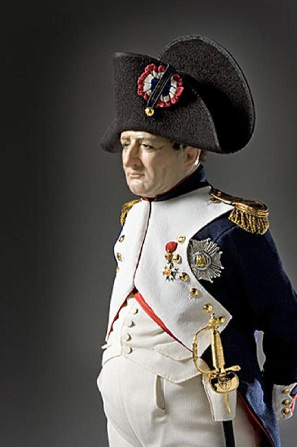 Так выглядел бы Наполеон сегодня, если бы его сфотографировали. Фото Джордж С., галерея историческихх деятелей стюарта
