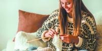 Вязание: хобби для тех, кому нужен отдых