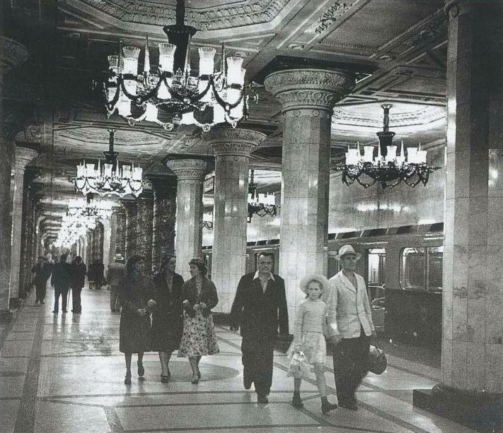 """На станцию """"Автово"""" прибыл первый поезд метрополитена. Фото пресс-служба петербургского метрополитена"""