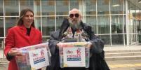 Вассерман принял участие в благотворительной акции для онкобольных детей