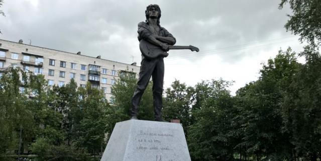 Памятник Виктору Цою   Кристина Бучнева.