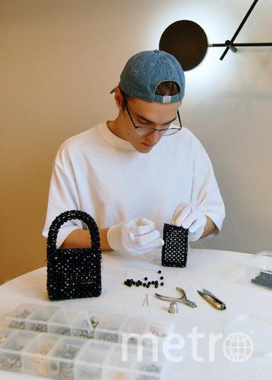 На создание одной сумочки уходит от 500 до 1500 бусин. Фото Фото предоставлено героем публикации.