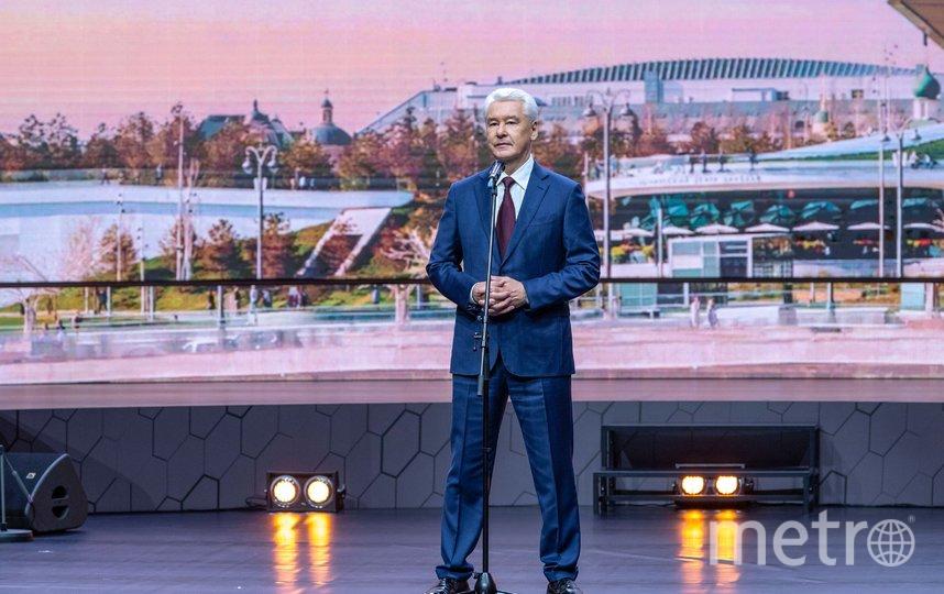 Сергей Собянин. Фото Владимир Новиков, пресс-служба мэра и правительства столицы