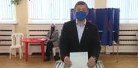 Андрей Турчак одним из первых проголосовал на начавшихся сегодня выборах