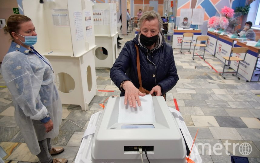 "В этом году избиратели стали гораздо активнее. Фото Александр Авилов | АГН ""Москва"""