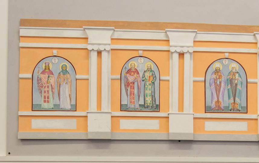 """Всего в мастерской """"Монастырская слобода"""" создадут 7 мозаик со святыми покровителями Петербурга. Фото Святослав Акимов, """"Metro"""""""